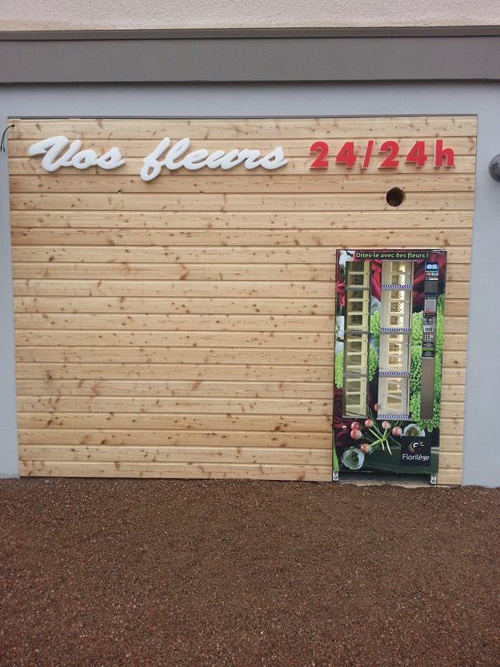 Indbygget Verdefiorè-blomsterautomat