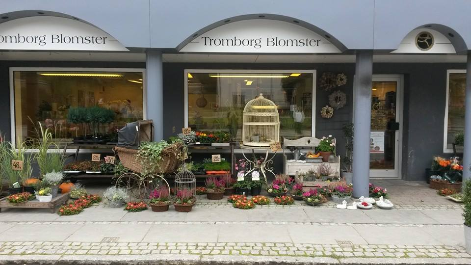 Tromborg Blomster i Horsens - køb blomster i blomsterautomaten