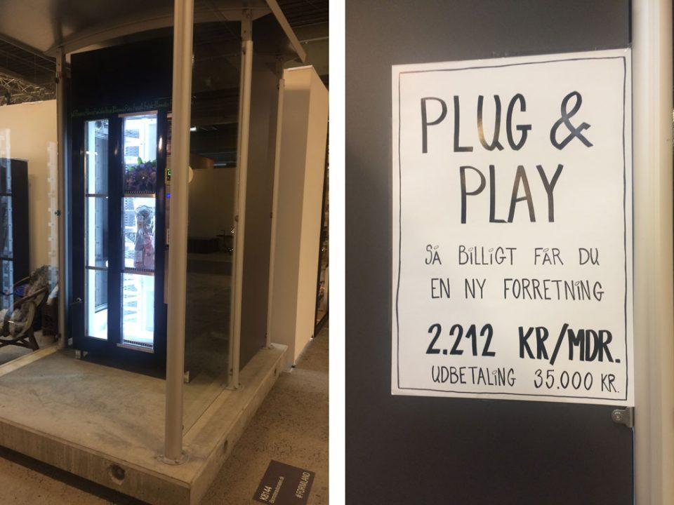 Plug and sell med en blomsterautomat tilknyttet din butik