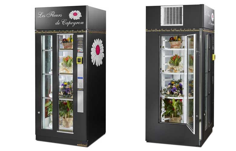 Naturaè – blomsterautomat med 18-24 rum til buketter, dekorationer, gavekurve m.m.