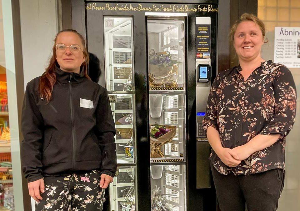Blomsterautomaten – nu også på Fyn